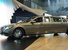 "Xe limousine Mercedes-Maybach S600 Pullman ""dài ngoằng"" tại triển lãm"