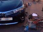 Người đi xe đạp bị kẹp giữa 2 ô tô, tử vong tại chỗ