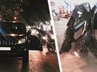 Người lái Toyota Land Cruiser Prado mở cửa thiếu quan sát, gây tai nạn