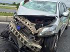 Phóng nhanh, xe taxi gặp tai nạn như phim hành động