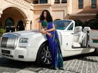 "Rolls-Royce Maharaja Phantom Drophead Coupe ""làm mẫu thời trang"""