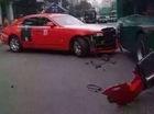 "Rolls-Royce Ghost chở nam ca sỹ ""Gangnam Style"" PSY gặp tai nạn"