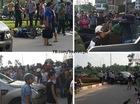 Hà Nội: Nữ tài xế lái Ford Ranger đâm trọng thương người đi xe máy