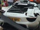 Triệu phú lái siêu xe Porsche 918 Spyder gây tai nạn, 26 người bị thương