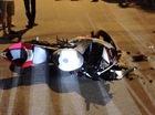 Hòa Bình: Mô tô Yamaha R15 chở 3 đâm ngang sườn ô tô