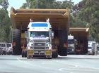 """""""Nước người ta"""" vận chuyển siêu xe tải Caterpillar 785C như thế nào?"""