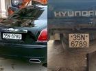 Xôn xao với Rolls-Royce Ghost chung biển số của xe tải Hyundai