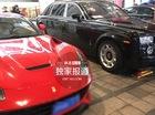 Xe sang và siêu xe tràn ngập trong đám cưới Huỳnh Hiểu Minh - Angelababy