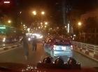 Hai người đuổi theo taxi gây tai nạn trên cầu vượt không có lỗi