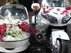 """""""Xít-đờ-ca"""" Honda Gold Wing làm xe dâu tại Hà Nội"""