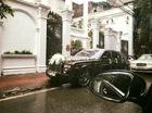 Rolls-Royce Phantom rồng màu độc làm xe rước dâu tại Hà Thành