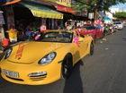 Porsche Boxster biển đẹp dẫn đoàn mô tô rước dâu tại Rạch Giá