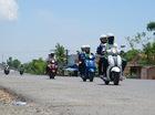 Thách thức Yamaha Grande bằng đoạn đường xấu nhất Bắc Trung Bộ