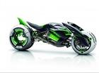 Kawasaki phát triển xe môtô 4 xy-lanh 250cc với mã tên K210
