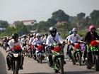 Kawasaki Z1000 dẫn 60 chiếc Yamaha Exciter đi rước dâu