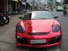 Chói mắt với Porsche Boxster màu crôm đỏ của dân chơi miền Tây
