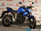 "Naked bike côn tay Suzuki Gixxer 250 sắp ""ra đời"""