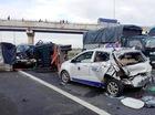 Tai nạn liên hoàn trên cao tốc Trung Lương, vì sao?