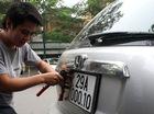 Đột ngột giảm phí ô tô ngoại tỉnh đăng ký biển Hà Nội
