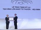 """""""Tạo hình lớn nhất từ thương hiệu BMW"""" được công nhận kỷ lục Guinness Việt Nam"""