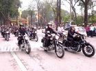 Nhiều biker đến đưa tiễn Trần Lập trong lễ viếng