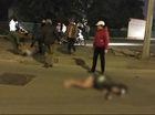Hà Nội: Mercedes tông xe máy trong đêm, đôi nam nữ chấn thương nặng