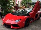 """Lamborghini Aventador mui trần độc nhất Việt Nam bị cảnh sát """"sờ gáy"""""""