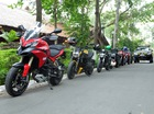Hàng chục mô tô Ducati xuyên Việt tới triển lãm riêng của Audi