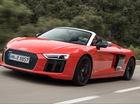Khám phá cách mở mui của siêu xe Audi R8 V10 Spyder