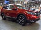 """Cận cảnh Honda CR-V thế hệ mới """"bằng xương, bằng thịt"""" ngoài đời thực"""