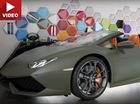 Lamborghini Huracan mui trần được sơn như xe Jeep