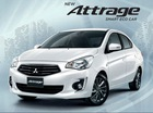 Mitsubishi Attrage 2016 ra mắt Đông Nam Á, giá từ 283 triệu Đồng