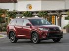 SUV gia đình Toyota Highlander 2017 tăng giá nhẹ
