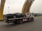 Ferrari 488 GTB đầu tiên về Việt Nam được chuyển ra Hà Nội