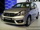 Honda Amaze nâng cấp trình làng, giá từ 175 triệu Đồng