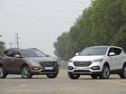 Hyundai Santa Fe 2016 lắp ráp nội địa ra mắt, giá từ 1,1 tỷ Đồng