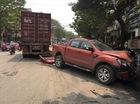 Xe container tuột rơ-moóc, một người chết thảm, 3 ô tô hư hỏng