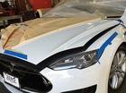 Xe an toàn nhất Tesla Model S sắp có phiên bản limousine