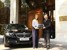 BMW bàn giao 5-Series cho khách sạn 5 sao