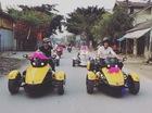 """Bentley Mulsanne cùng đoàn mô tô """"khủng"""" rước dâu tại Hà Tĩnh"""