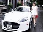 Aston Martin Rapide S của tiểu thư 9X Hà thành khoe dáng cùng cặp siêu xe hàng hiếm