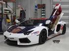 Dùng Lamborghini Aventador để vận động phiếu bầu cho Donald Trump