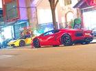 Hàng chục siêu xe và xe sang đi chơi bar lúc nửa đêm tại Sài thành