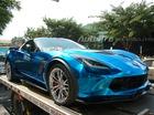 """Chevrolet Corvette C7 Z06 đổi màu sơn để """"tìm khách"""" tại Sài Thành"""