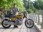 Gặp biker Hà thành sở hữu xế độ Honda độc nhất Việt Nam