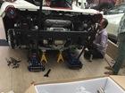 Sài Gòn: Ferrari 488 GTB lắp ống xả độ Akrapovic hơn 150 triệu Đồng