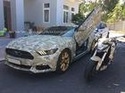 Ford Mustang hàng hiếm, độ cửa cắt kéo, đọ dáng cùng Honda CB1000R