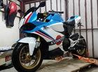 """Thợ độ táo bạo biến hóa Honda MSX 125 thành Ducati 1199 """"chất chơi"""""""