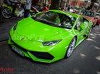 Siêu xe Lamborghini Huracan xanh cốm của Phan Thành tái xuất