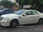 Đắng lòng khi thấy Cadillac STS bị bỏ rơi tại Hà Nội